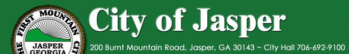 City of Jasper, Georgia