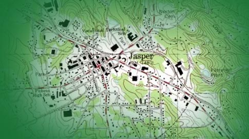 Jasper Georgia Map.Planning Zoning City Of Jasper Georgia